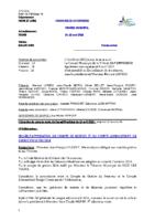 Compte-rendu 16/04/2015