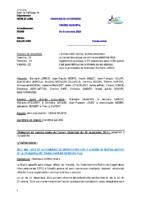 Compte-rendu 05/11/2015