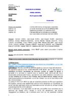 Compte-rendu 24/09/2015